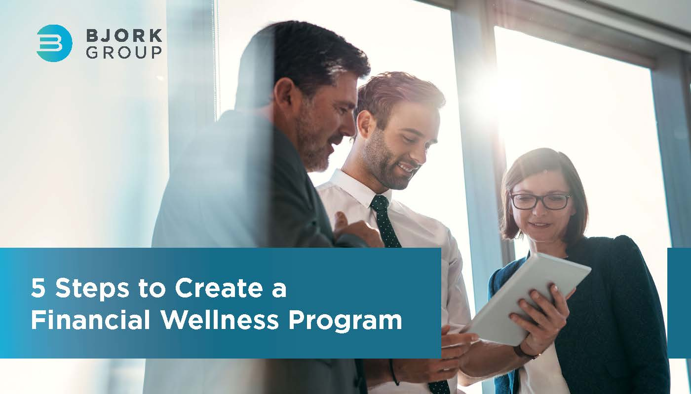 Headline Image - 5 Steps to Create a Financial Wellness Program
