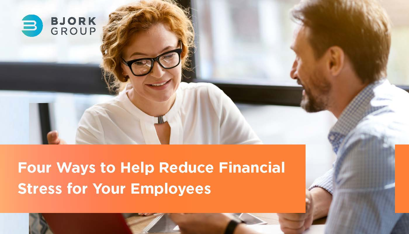 Headline Image - Four Ways to Help Reduce Financial Stress for Your Employees