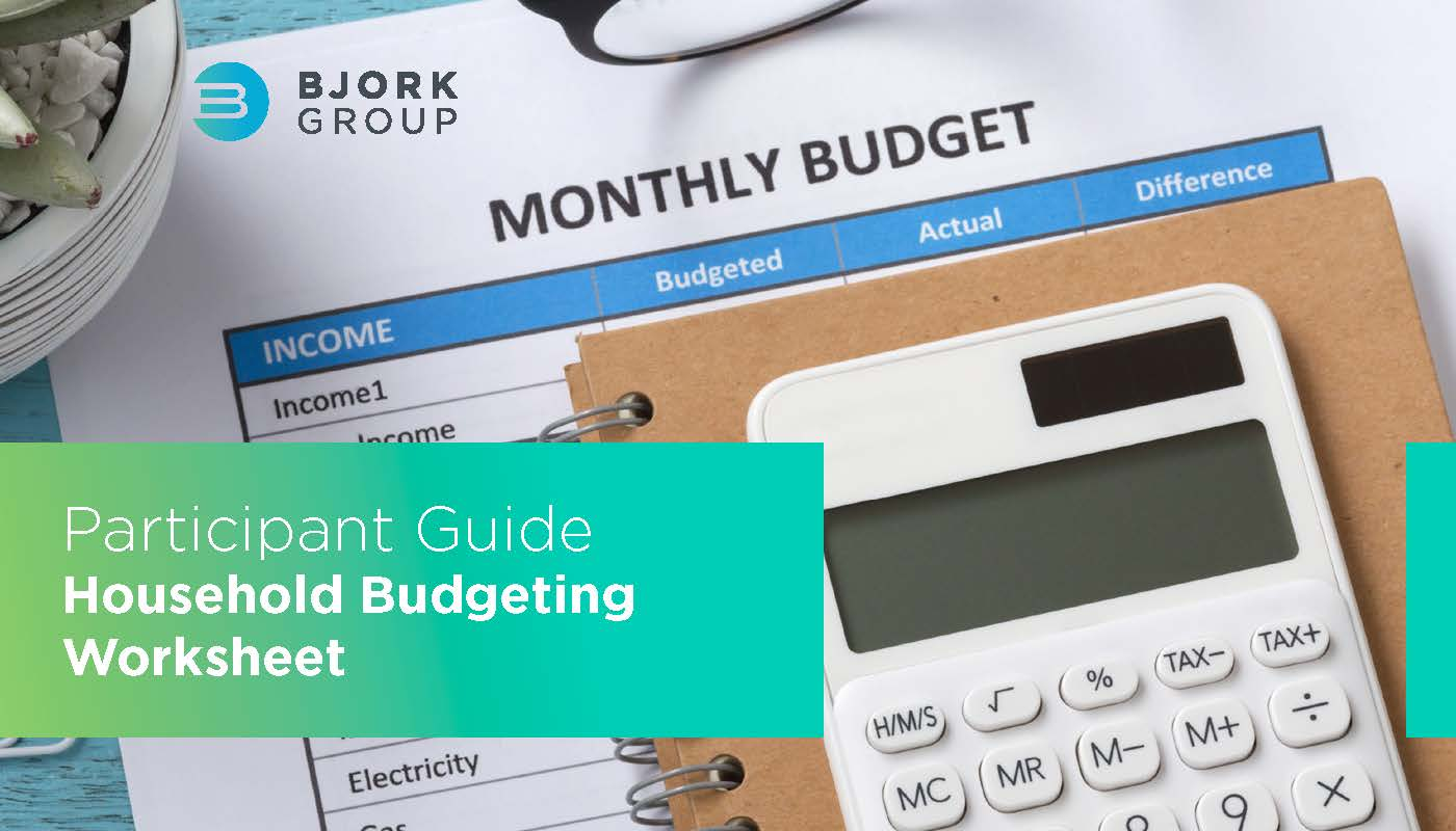 Headline Image - Household Budgeting Worksheet