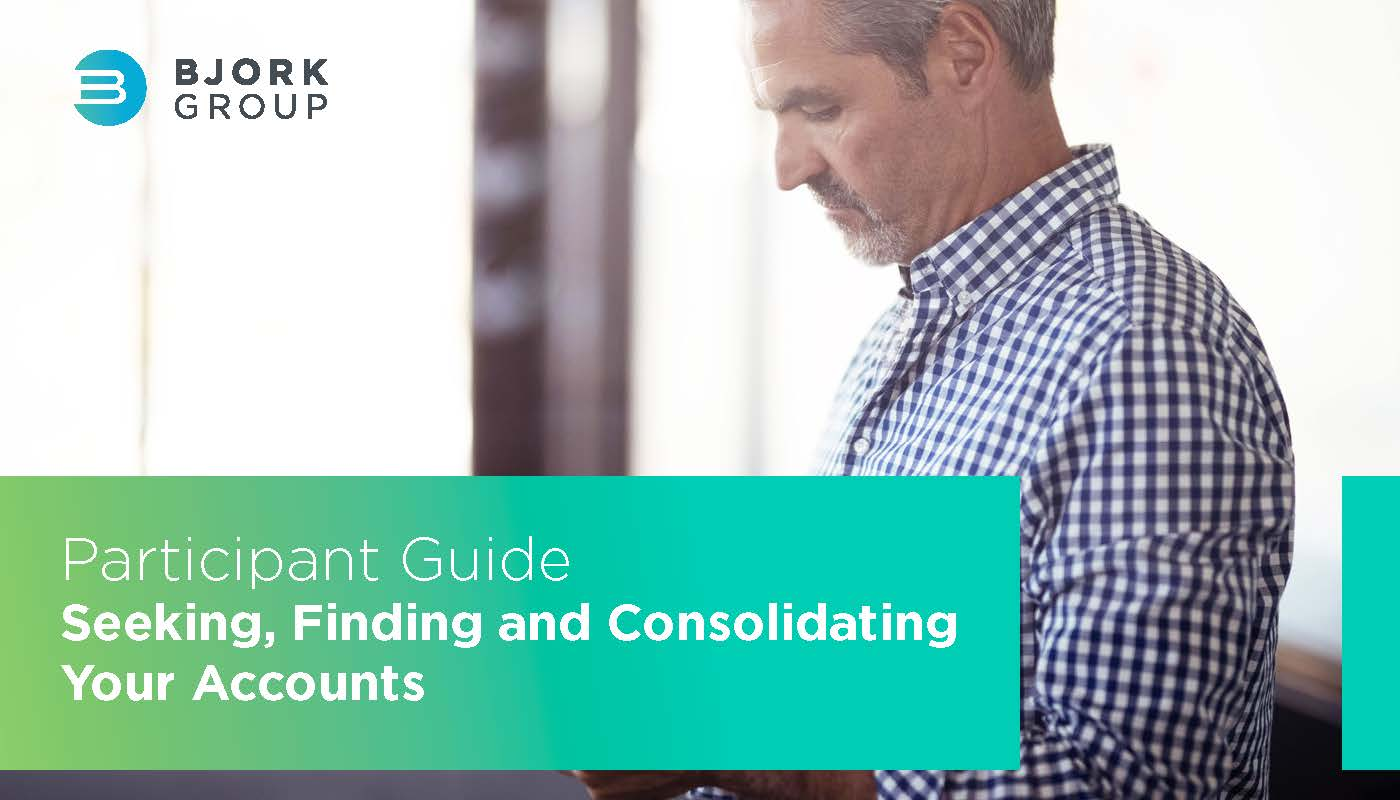Headline Image - Seeking Finding and Consolidating Your Accounts